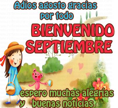 Imágenes Y Mensajes Bonitos Para El Mes De Septiembre