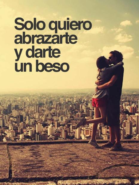 Imágenes De Besos Con Frases De Amor Tiernas Y Románticas