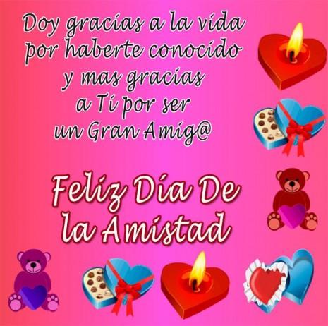 Imágenes Del Día De La Amistad Felicitaciones Frases Para Amigos Y