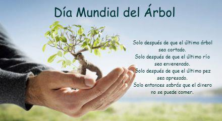 Imágenes Con Frases Y Mensajes Del Día Del árbol