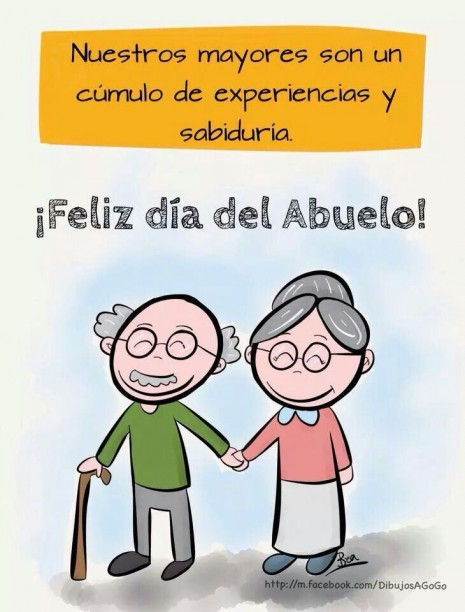 Imágenes Frases Y Mensajes Bonitos Del Día De Los Abuelos