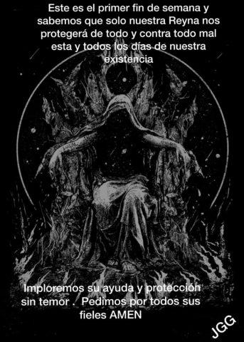 Imágenes De La Santa Muerte Con Frases Chidas