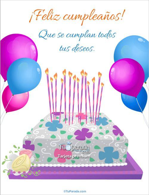 Imágenes Frases Y Mensajes Bonitos De Cumpleaños Para Una Amiga