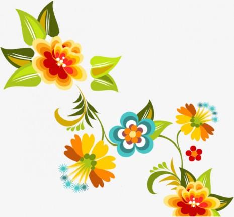 Flores Bonitas Para Dibujar Con Color Disfrutar de im ...