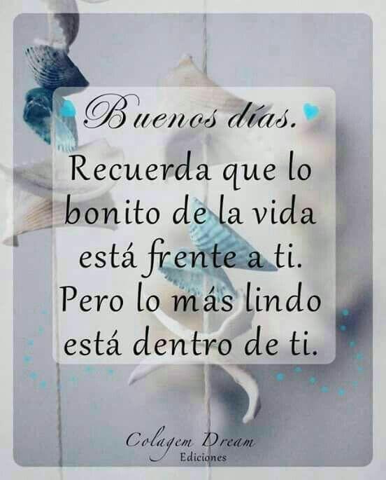 Imágenes Con Frases Bonitas De Buenos Dias