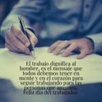 Feliz Día del Trabajador (Frases, Tarjetas e Imágenes)