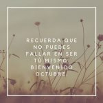 Imágenes y mensajes bonitos para el mes de octubre