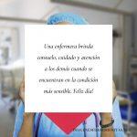 Imágenes con frases bonitas del Día de la Enfermera para compartir